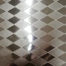 金属几何图形PU